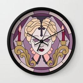 Carmilla - Sheridan Le Fanu - Stained Glass Wall Clock