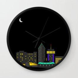 Wichita, Kansas Skyline Wall Clock