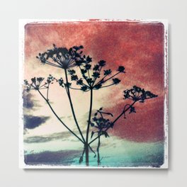 abstrackt flowers Metal Print