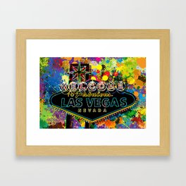 Welcome to Las Vegas Framed Art Print