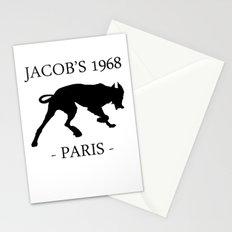 Black Dog Jacob's 1968 fashion Paris Stationery Cards