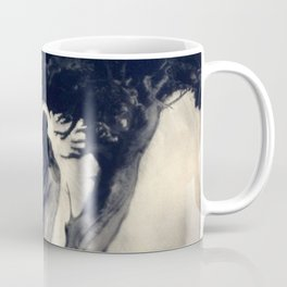 Heart of the Strom, Two Female Figures black and white photograph / photography Coffee Mug