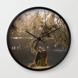 Autumn Feelings 2 Wall Clock