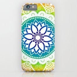 Mandala Tropical Spirit Spiritual Zen Bohemian Hippie Yoga Mantra Meditation iPhone Case