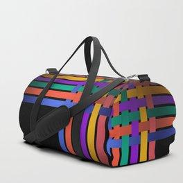 Braiding ribbons Duffle Bag