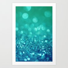 Bubble Party Art Print