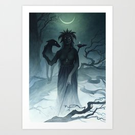 Hecate ~ A Compendium of Witches Art Print