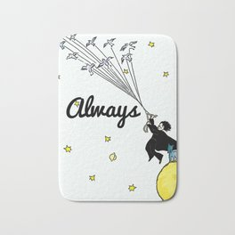 Always - Severus Snape Bath Mat