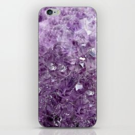 Amethyst Sparks iPhone Skin