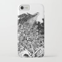 scary iPhone & iPod Cases featuring Scary Soul by bimorecreative