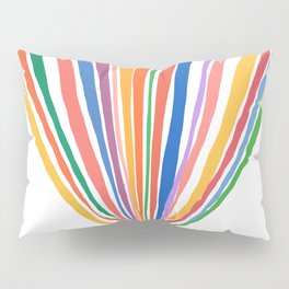 The Beginning is Nigh Rainbow Pillow Sham