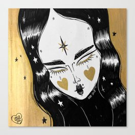 GOLDEN WITCH Canvas Print