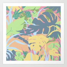 Jungle Flora 2 Art Print