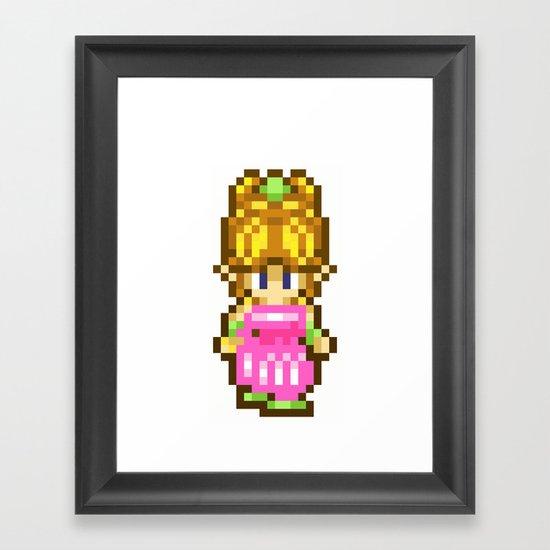 Secret of Mana Girl Framed Art Print