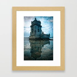 Leica Belem Portugal Framed Art Print