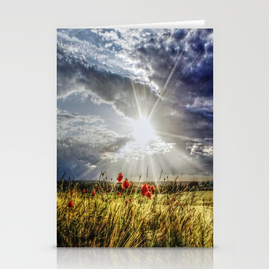 Summer happens Stationery Cards