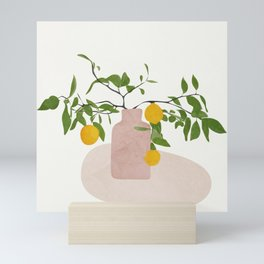 Lemon Branches Mini Art Print