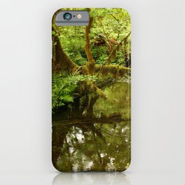 Rainforest Reflection iPhone Case
