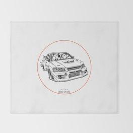 Crazy Car Art 0196 Throw Blanket