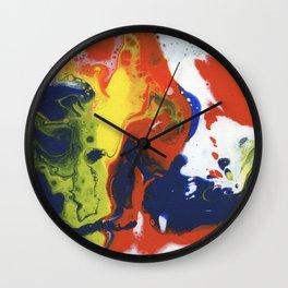 Fluidity VI Wall Clock