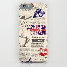 British newspaper style iPhone Case