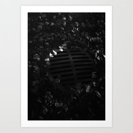 Storm Drain (Journey to School Series, 2003) Art Print