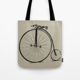 19th Century Bicycle Tote Bag
