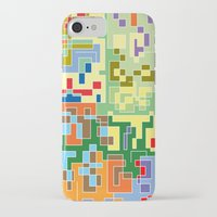 world maps iPhone & iPod Cases featuring Maps by Tony Vazquez