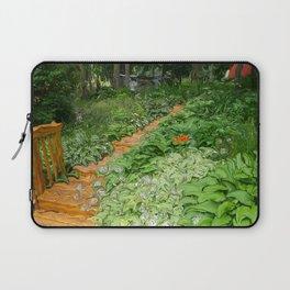 Garden Path Laptop Sleeve