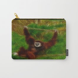 Gibbon in jungle Carry-All Pouch