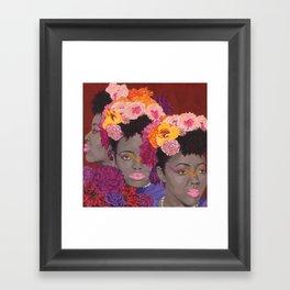 Tree - Florae Series  Framed Art Print