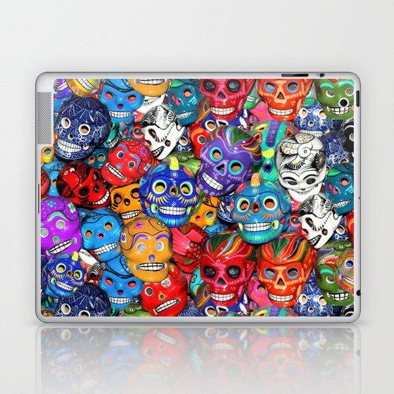 Calaveras Pequeñas - Little Sugar Skulls Laptop & iPad Skin