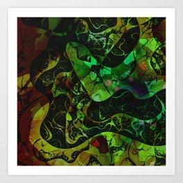 Abstract DM 03 Art Print