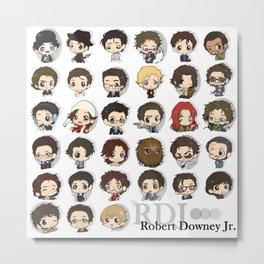 Robert Downey Jr. Metal Print