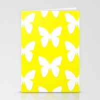 butterfly Stationery Cards featuring Butterfly by Naked N Pieces