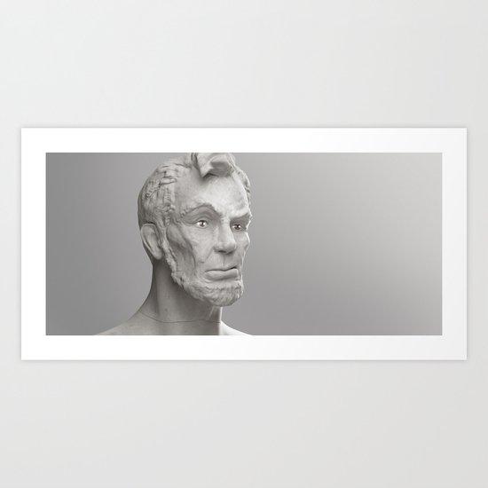 Visions - Lincoln Art Print