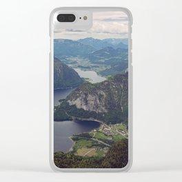 Dachstein Valley Clear iPhone Case