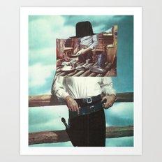 Gun Slinger Art Print