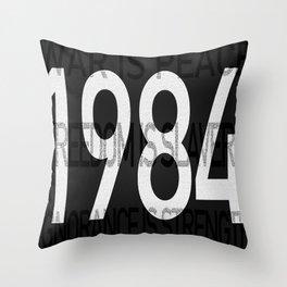 1984 INGSOC Print Throw Pillow