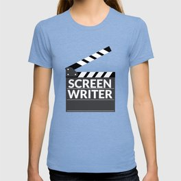 Gift for Screenwriters - Clapboard Name T-shirt