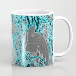 Electric Orbs - Teal Coffee Mug