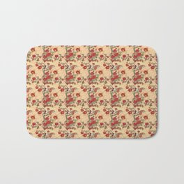 Project 397 | Red Roses on Gold Bath Mat