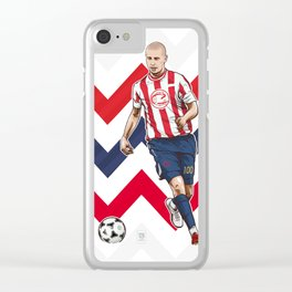 Bofo Bautista Guadalajara Clear iPhone Case