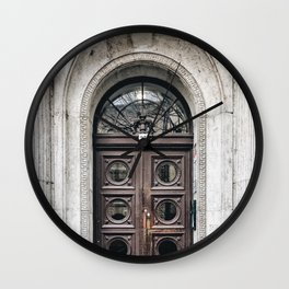 No. 35 Door Wall Clock