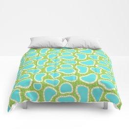 Hot Springs Pools - Pattern by Mellie Test Comforters