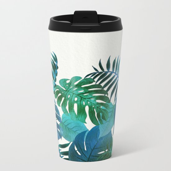My Tropical Garden 18 Metal Travel Mug