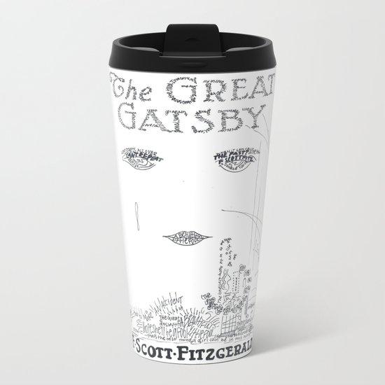 The Great Gatsby Metal Travel Mug