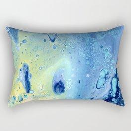Water Bubbles Rectangular Pillow