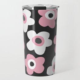 White and pink flowers Travel Mug