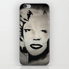 THE FACES OF MARILYN iPhone Skin